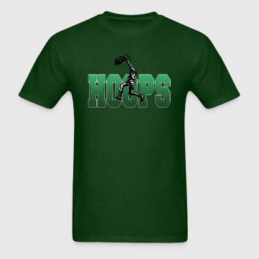 Basketball Hoops - Men's T-Shirt