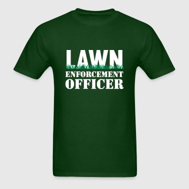 Lawn Enforcement Officer - Men's T-Shirt