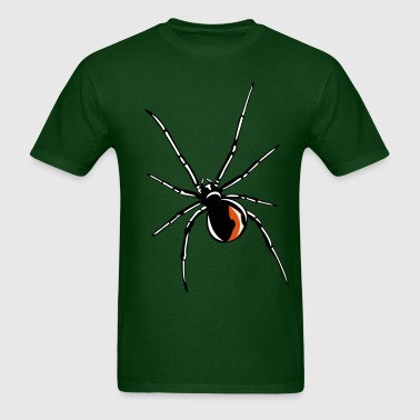 Black widow spider - Men's T-Shirt