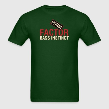 Bass  instinct - Men's T-Shirt