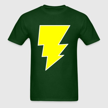 Yellow Bolt - Men's T-Shirt
