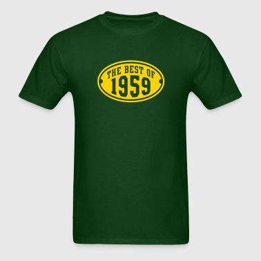 THE BEST OF 1959 Birthday Anniversary Design - Men's T-Shirt