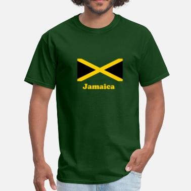 Two Bob Jamaica flag in two colours - Men's T-Shirt