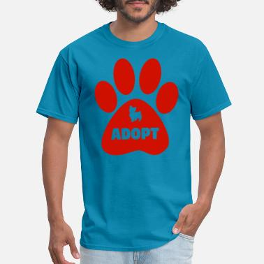 Adopt A Dog adopt dog - Men's T-Shirt