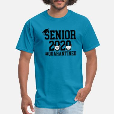 Prom Senior 2020, Graduation T-shirt, Quarantined Shirt - Men's T-Shirt