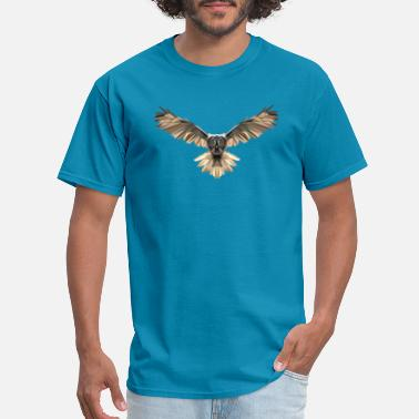 Broken Owl - Men's T-Shirt