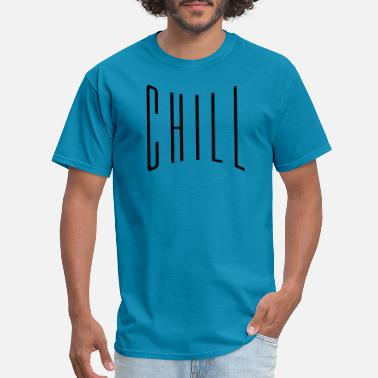 Free Beer text chill relaxed relax calm upset calm approach - Men's T-Shirt