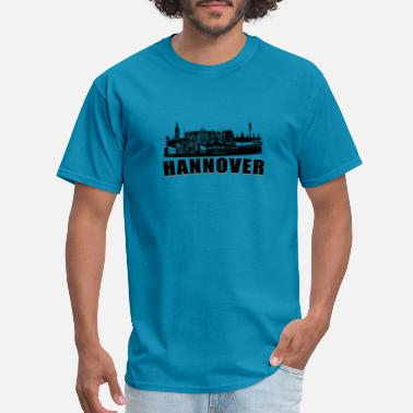 Hanover Hannover or Hanover a town in germany - Men's T-Shirt