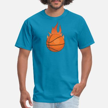 Youth Basketball Ball basketball shirt design - Men's T-Shirt