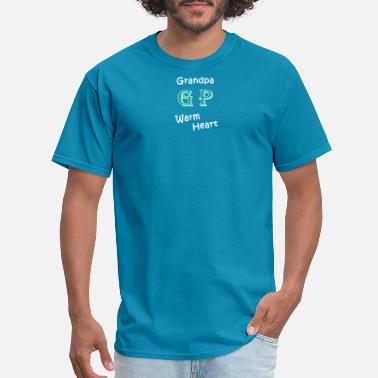 Warm Heart Grandpa Warm Heart - Men's T-Shirt