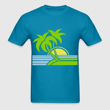Palm Sand Surf - Men's T-Shirt