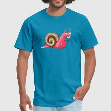 Drug Trippy Trippy LSD snail - Men's T-Shirt