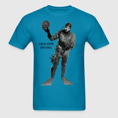 Vintage Commercial Abalone Diver - Men's T-Shirt