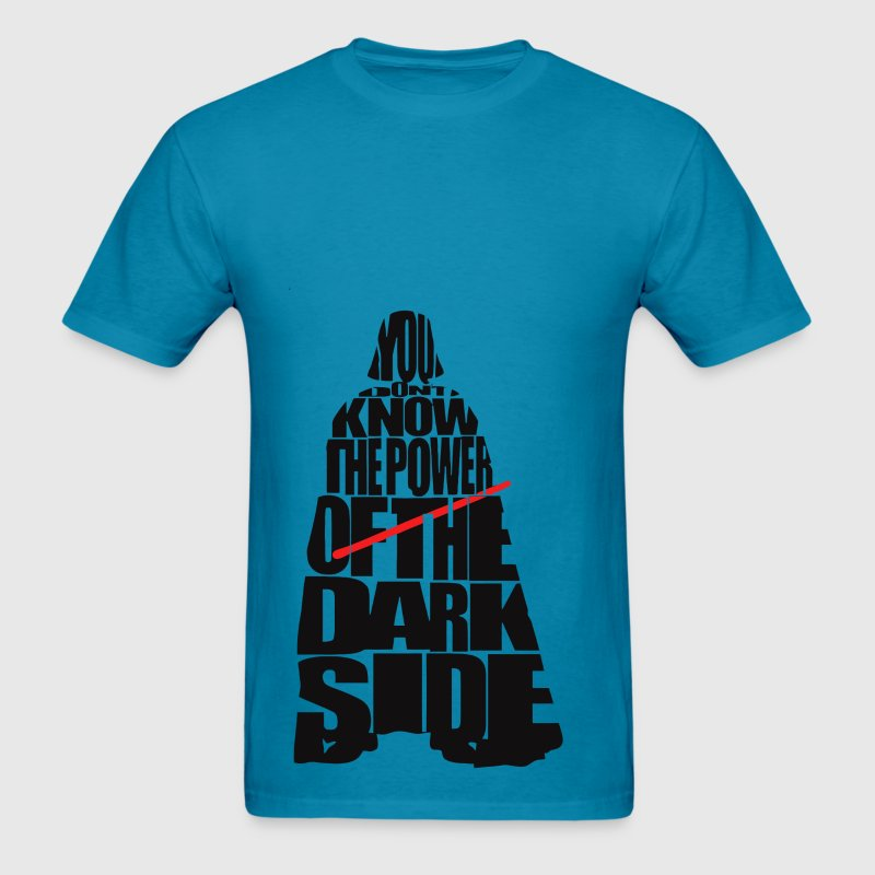 Cool Star Wars Darth Vader typography - Men's T-Shirt