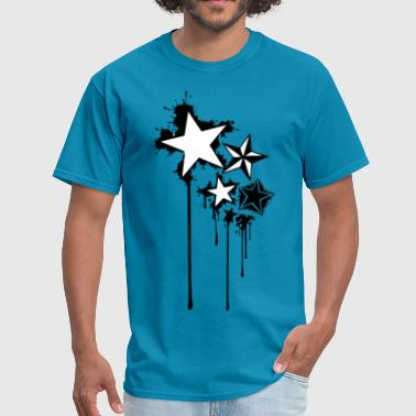 Cool star splatter - Men's T-Shirt