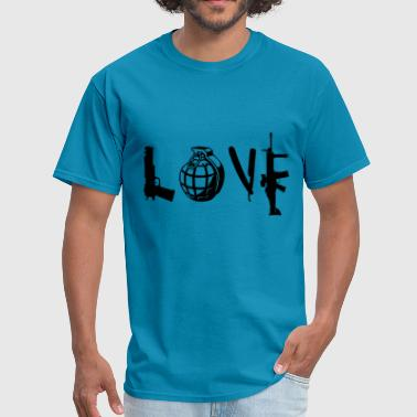 Weapon Love love weapon - Men's T-Shirt