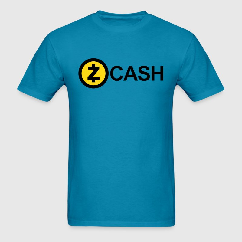Zcash Logo (Cryptocurrency) - Men's T-Shirt