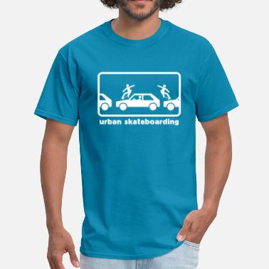 urban skateboarding - Men's T-Shirt