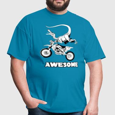 Dinosaurs love extreme sports - Men's T-Shirt