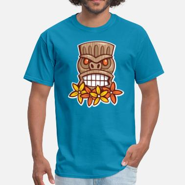 Big Grin Tiki - Men's T-Shirt