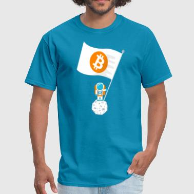 Claim the Moon - Bitcoin - Men's T-Shirt