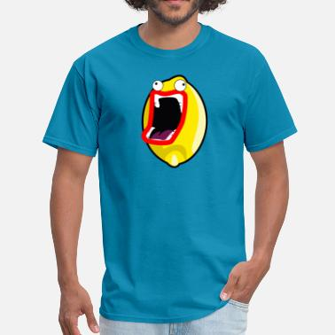 Lemon Nerd Firin mah lazor lemon - Men's T-Shirt