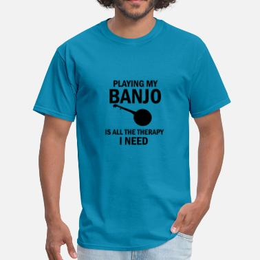 Banjo Clothes banjo design - Men's T-Shirt