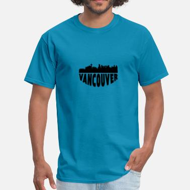 Vancouver Canada Vancouver Canada Cityscape Skyline - Men's T-Shirt