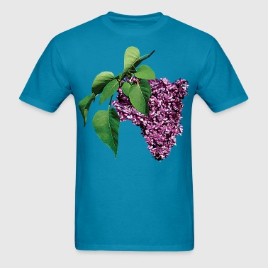 Magenta Lilacs - Men's T-Shirt