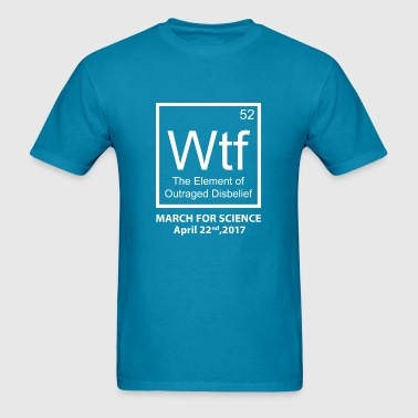 Wtf Outraged Disbelief - Men's T-Shirt