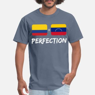 Colombian Plus Venezuelan Perfection Heritage Gift - Men's T-Shirt