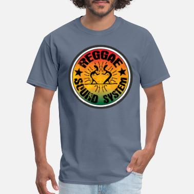 Reggae reggae soundsystem - Men's T-Shirt
