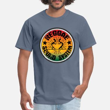 Reggae Music reggae soundsystem - Men's T-Shirt