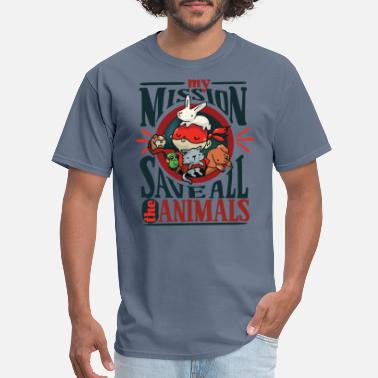 Save Animals Save animals - Men's T-Shirt