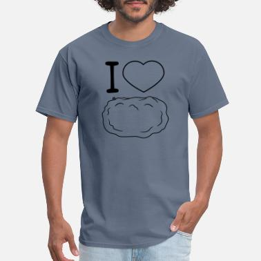 Indy yummy i love i heart heart food potato vegetable f - Men's T-Shirt