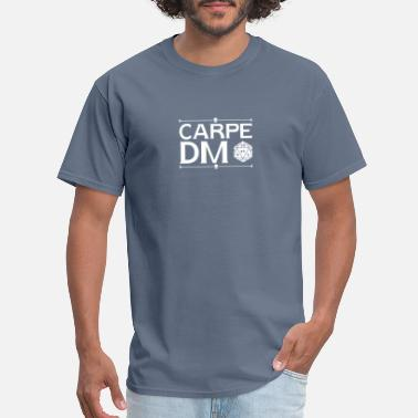 Dm Carpe Dm , Funny, Gift, Carpe Dm, D And D, - Men's T-Shirt