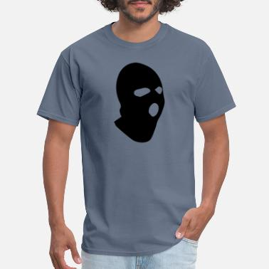 Crook ski mask - Men's T-Shirt