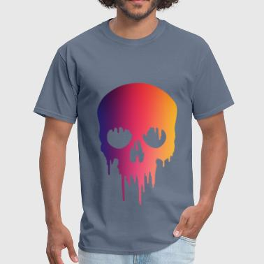Melting Skull paintMelting Skull paint - Men's T-Shirt