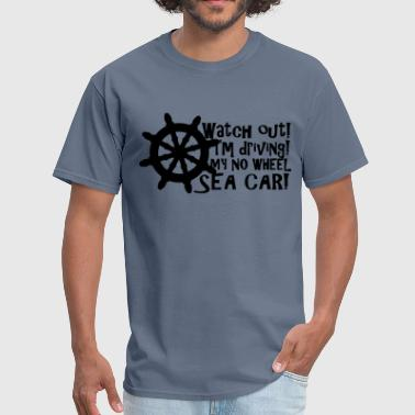 Sea Car Sailor - Men's T-Shirt