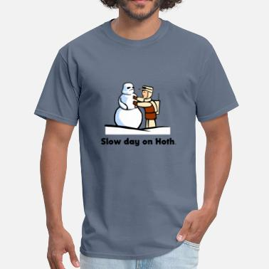 Star-wars-snowman Funny Star Wars comic - Men's T-Shirt