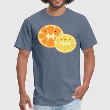 Lemon and Orange - Men's T-Shirt