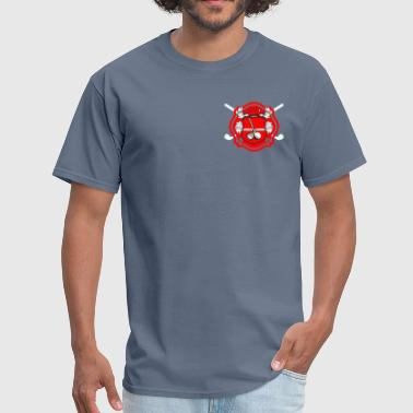 Firefighter golf logo - Men's T-Shirt