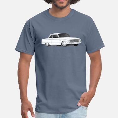 Ford Car 1960 Ford Falcon drawing - Men's T-Shirt