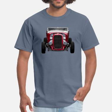 Hot Rods Red Hot Rod front - Men's T-Shirt