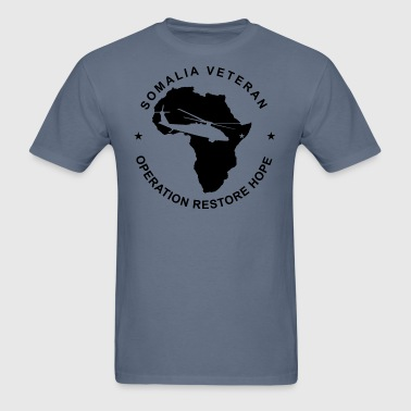 Somalia Veteran - Men's T-Shirt