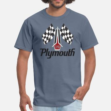 Plymouth Satellite Plymouth 318 Hood Ornament - Men's T-Shirt