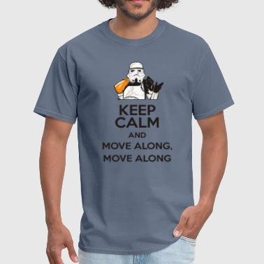 Funny Star Wars Stormtrooper move along edition - Men's T-Shirt