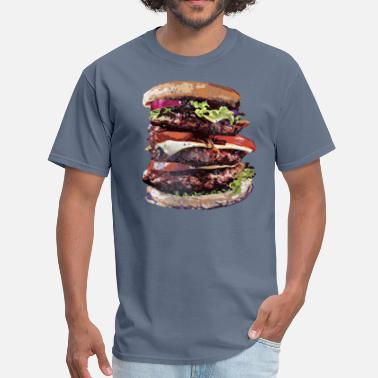 Burger King Cheeseburgers Rule~ - Men's T-Shirt