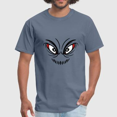 Eat Insects insect clown joker grin mouth eat grin monster evi - Men's T-Shirt