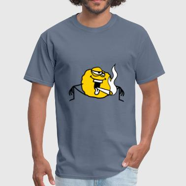 stoned kiffen stinker stoned hemp weed smoking joi - Men's T-Shirt